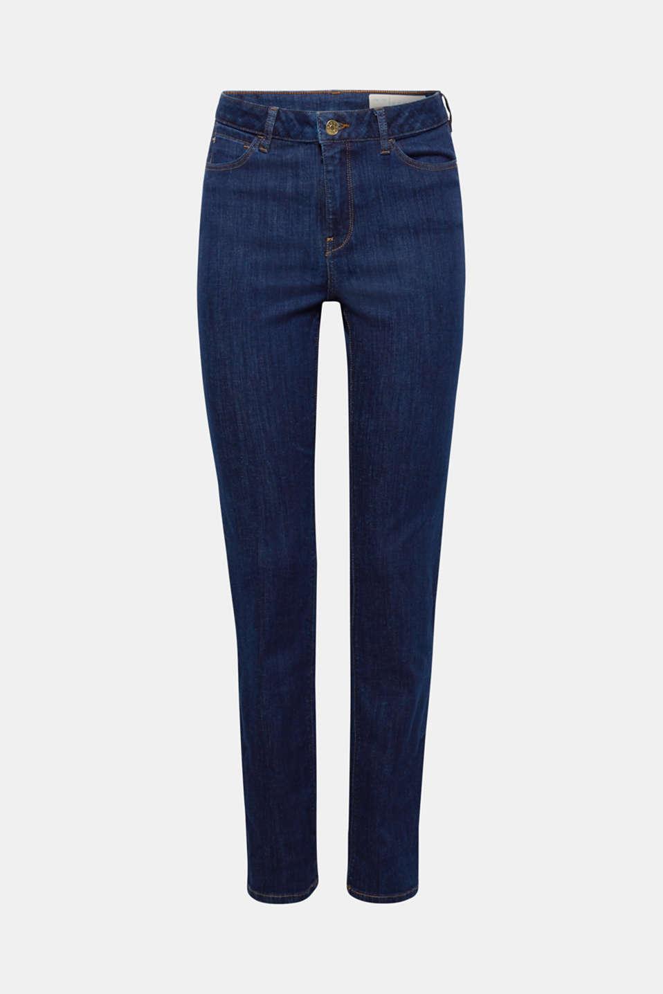 Pants denim, BLUE RINSE, detail image number 7