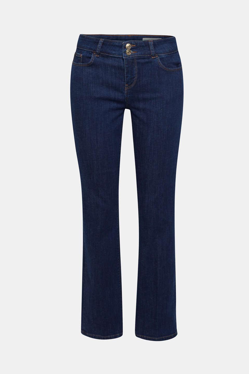 Pants denim, BLUE RINSE, detail image number 8