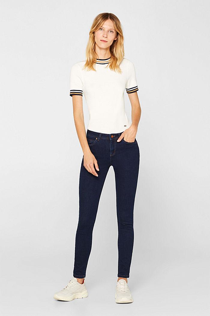 Slim super stretch jeans, BLUE RINSE, detail image number 0