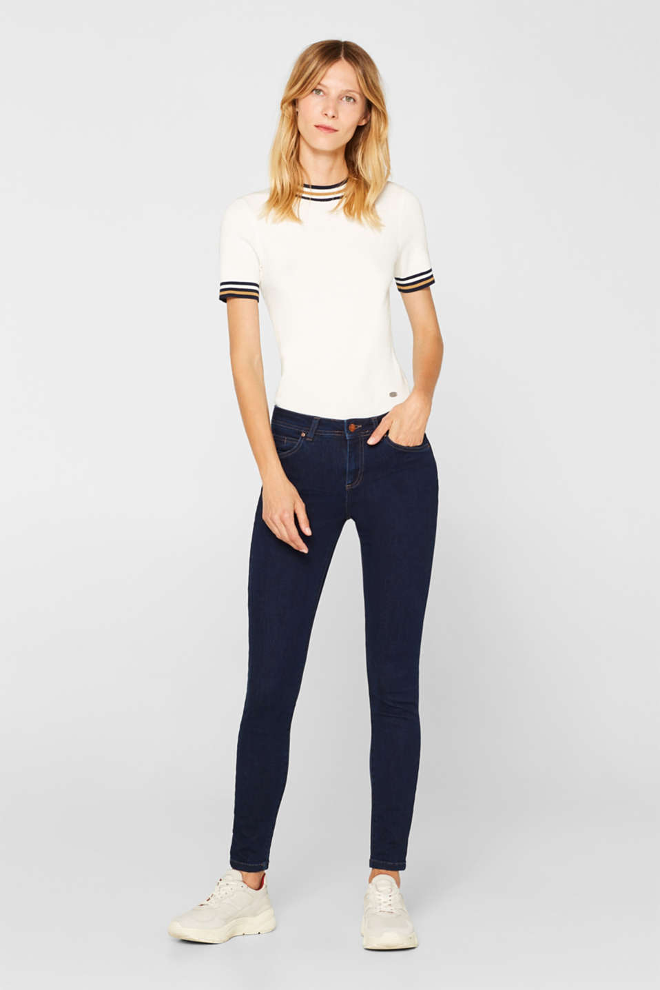 Esprit - Schmale Superstretch-Jeans