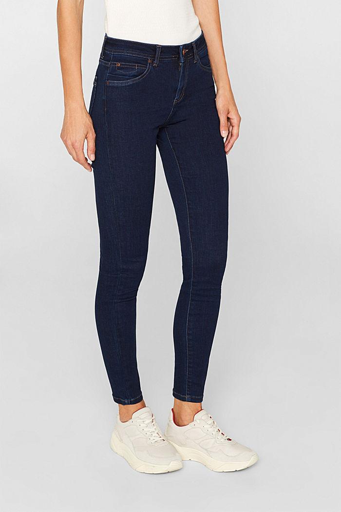 Slim super stretch jeans, BLUE RINSE, detail image number 6