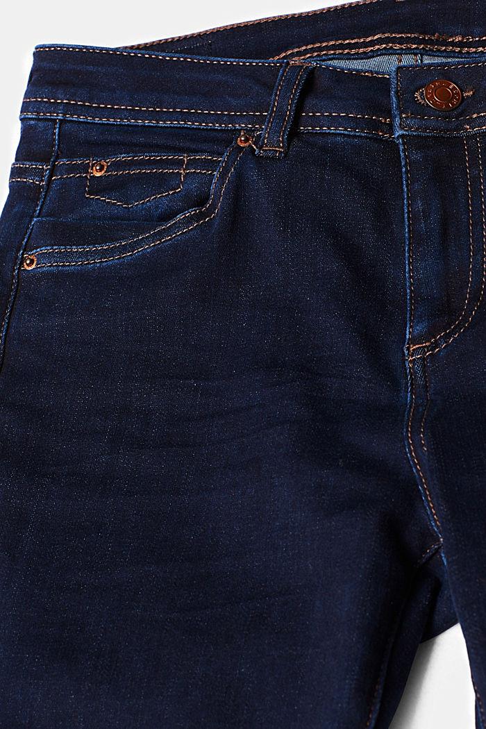 Slim super stretch jeans, BLUE RINSE, detail image number 4