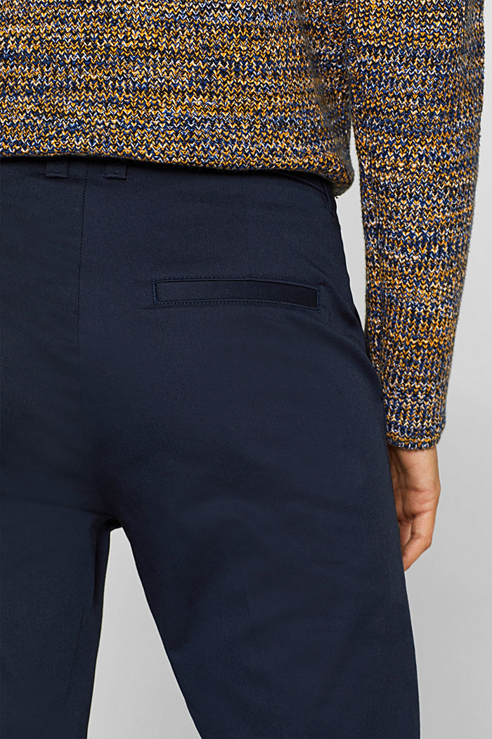 Cotton twill chinos, NAVY, detail image number 2