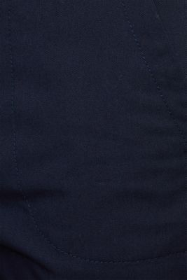 Cotton twill chinos, NAVY, detail