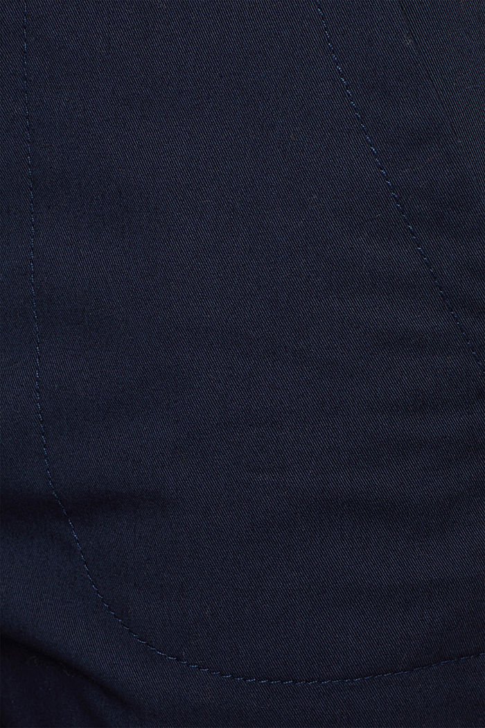 Cotton twill chinos, NAVY, detail image number 4