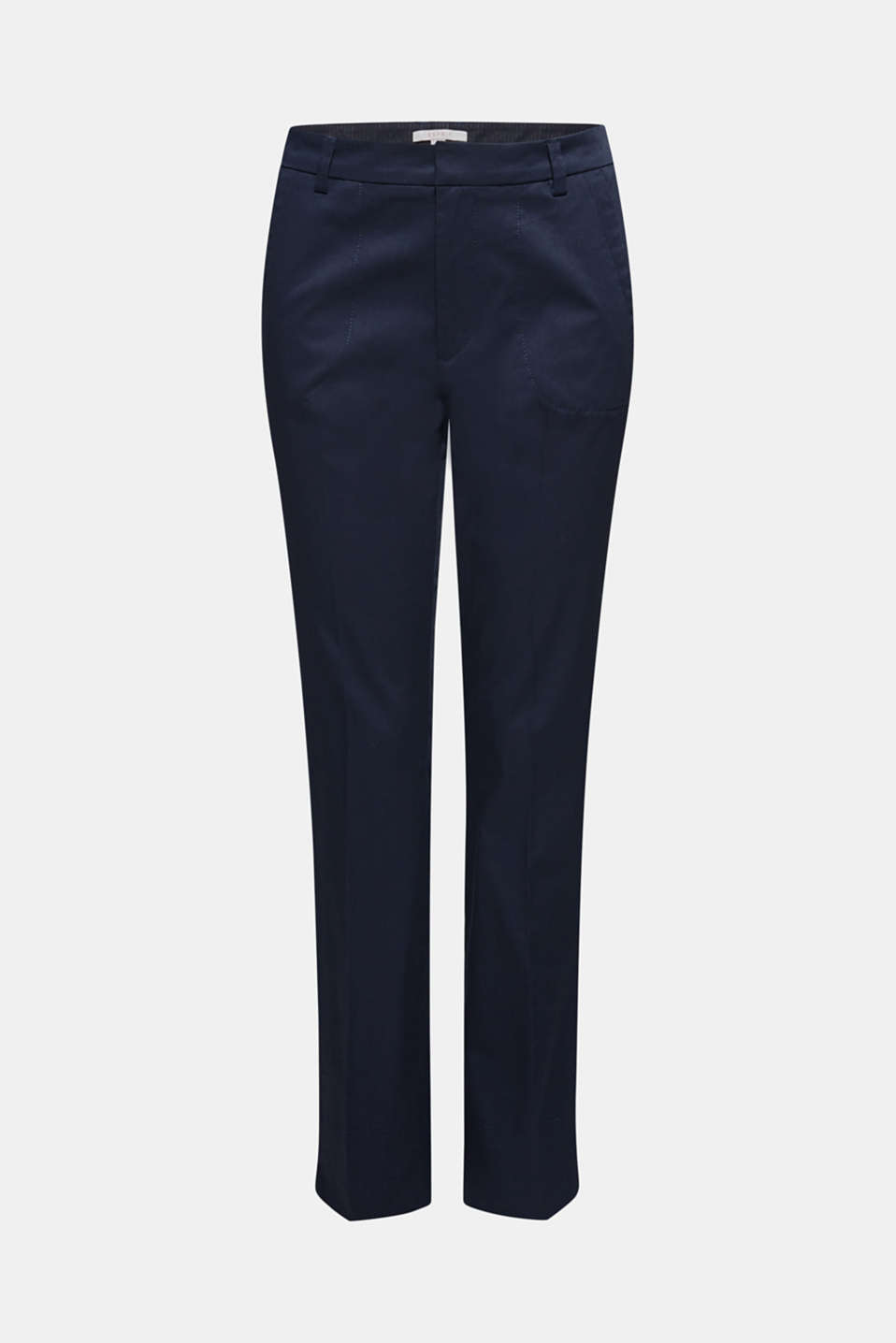 Cotton twill chinos, NAVY, detail image number 6