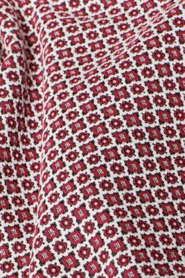 Jersey skirt with a jacquard pattern