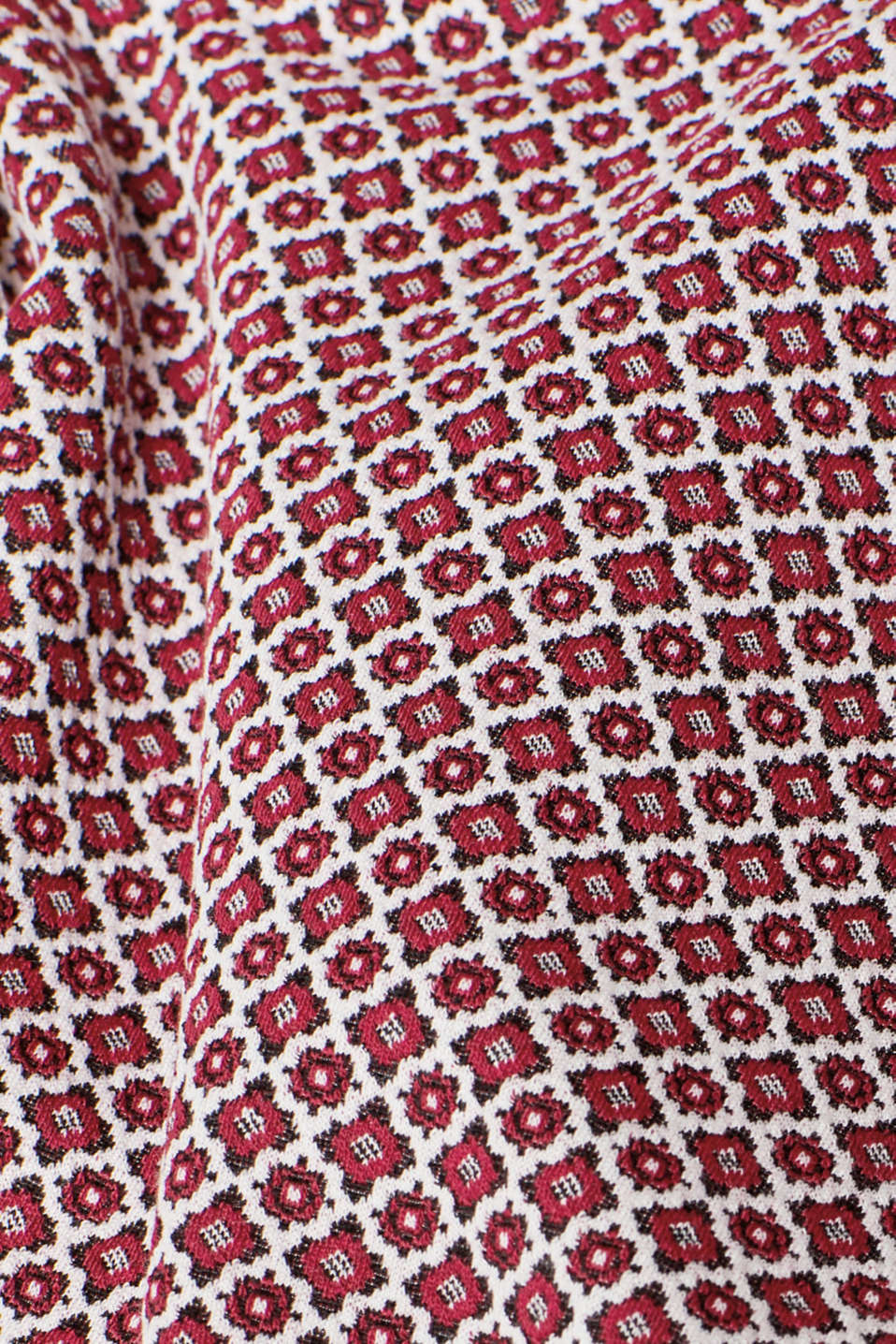 Skirts knitted, GARNET RED, detail image number 4