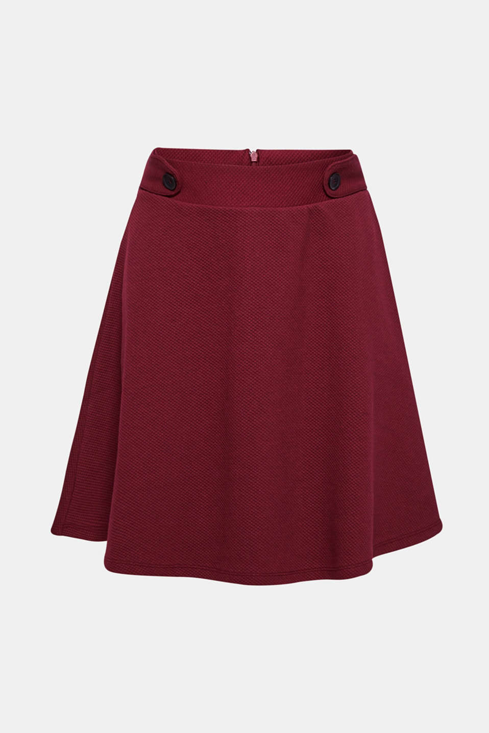 Skirts knitted, GARNET RED, detail image number 6