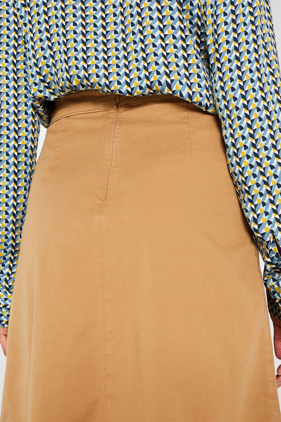 Skirts woven, CAMEL, detail image number 6
