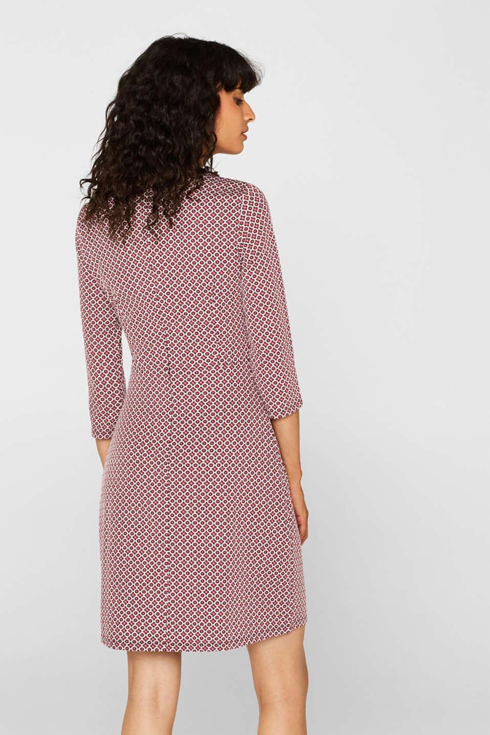 Dresses knitted, GARNET RED, detail image number 2