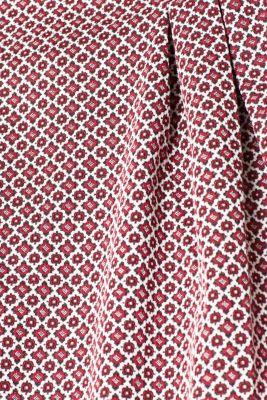 Jacquard dress made of compact stretch jersey