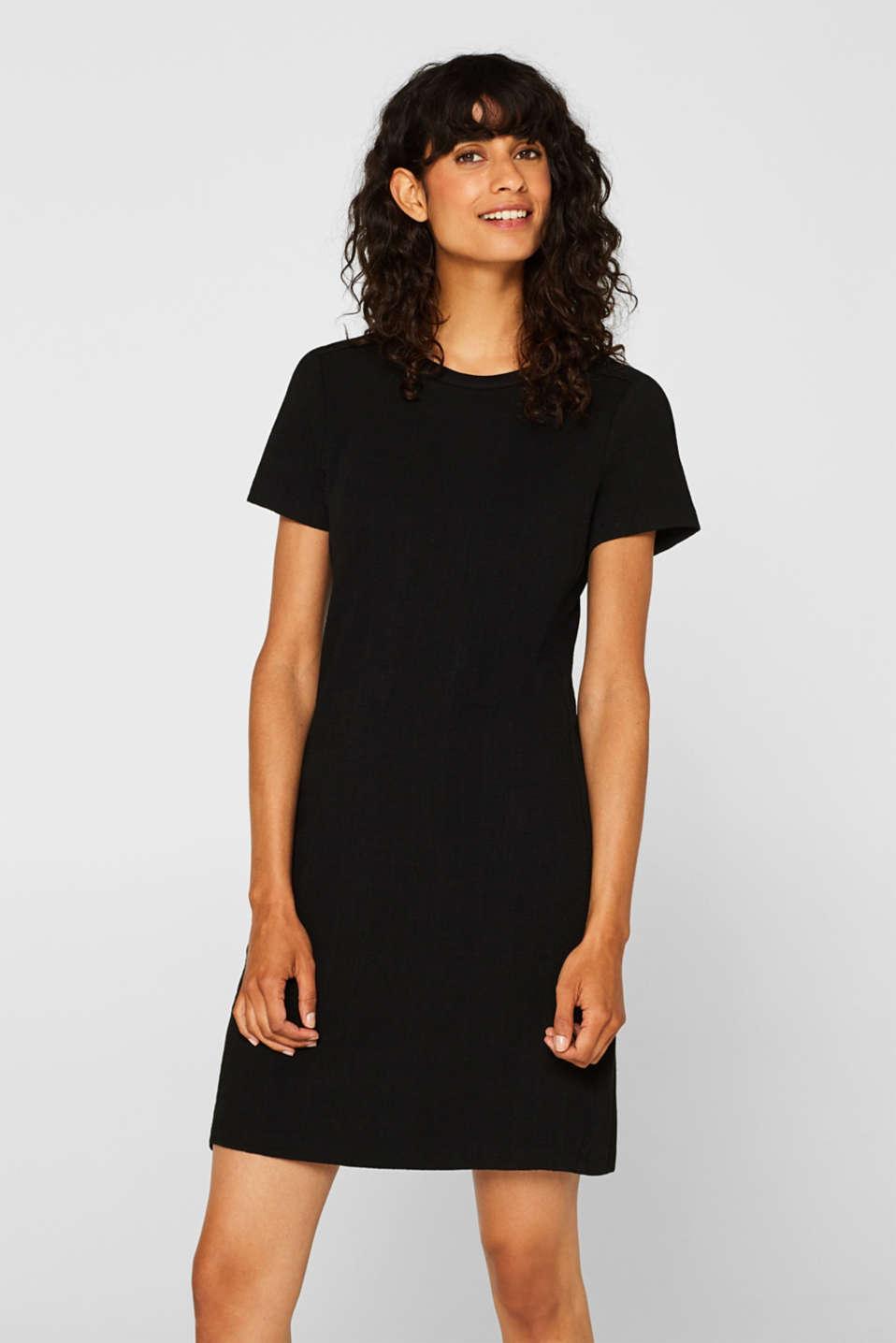 Dresses knitted, BLACK, detail image number 0