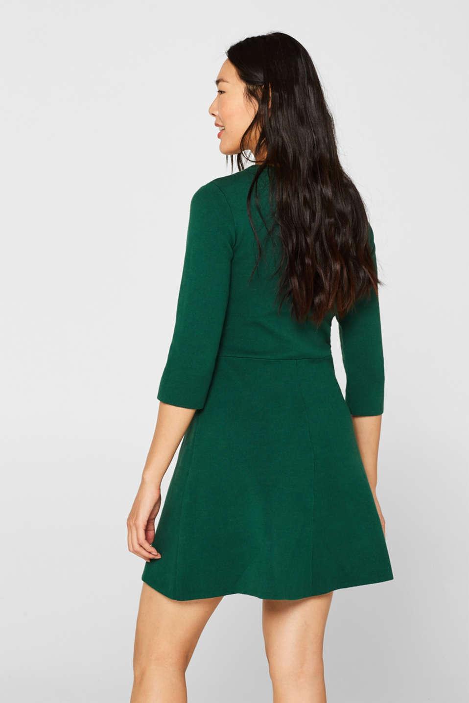 Dresses flat knitted, BOTTLE GREEN, detail image number 2