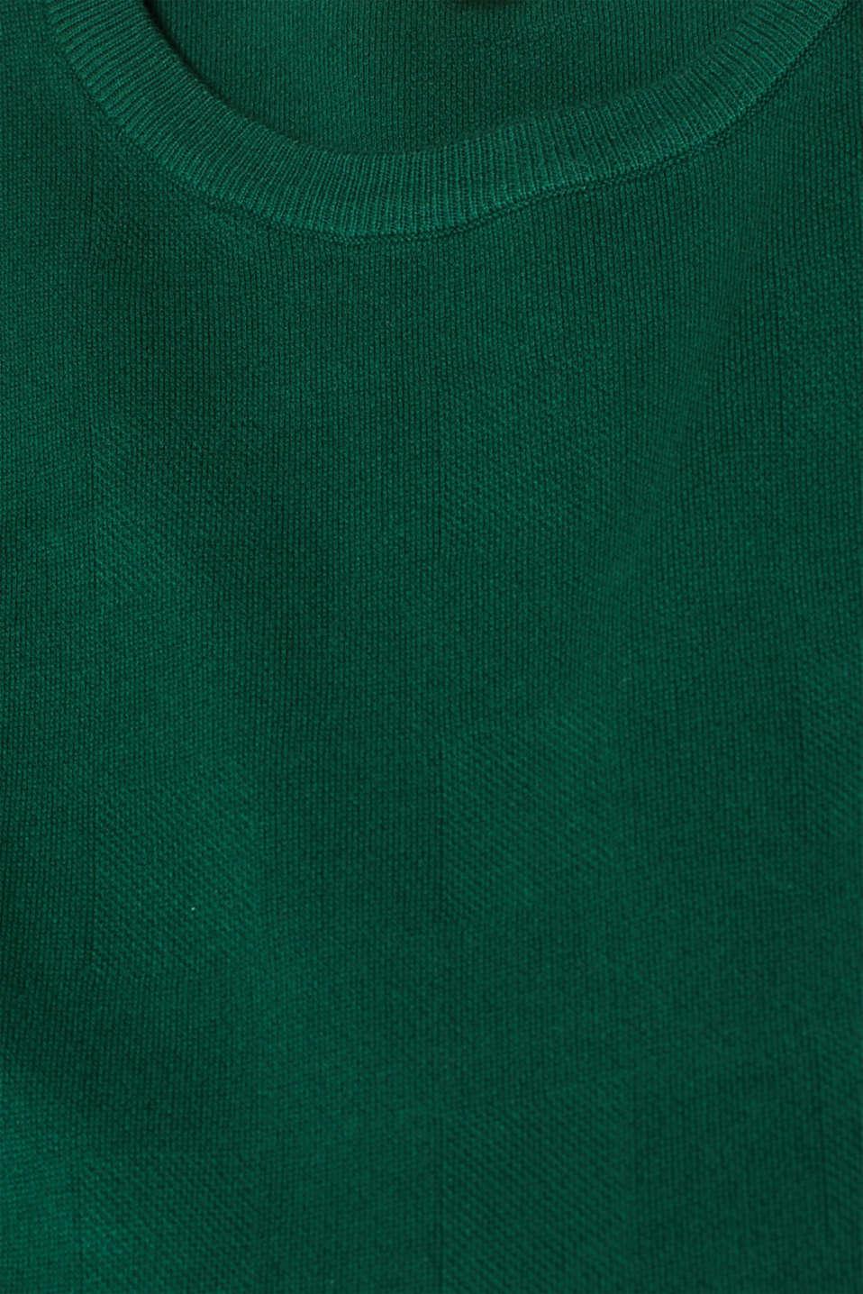 Dresses flat knitted, BOTTLE GREEN, detail image number 4