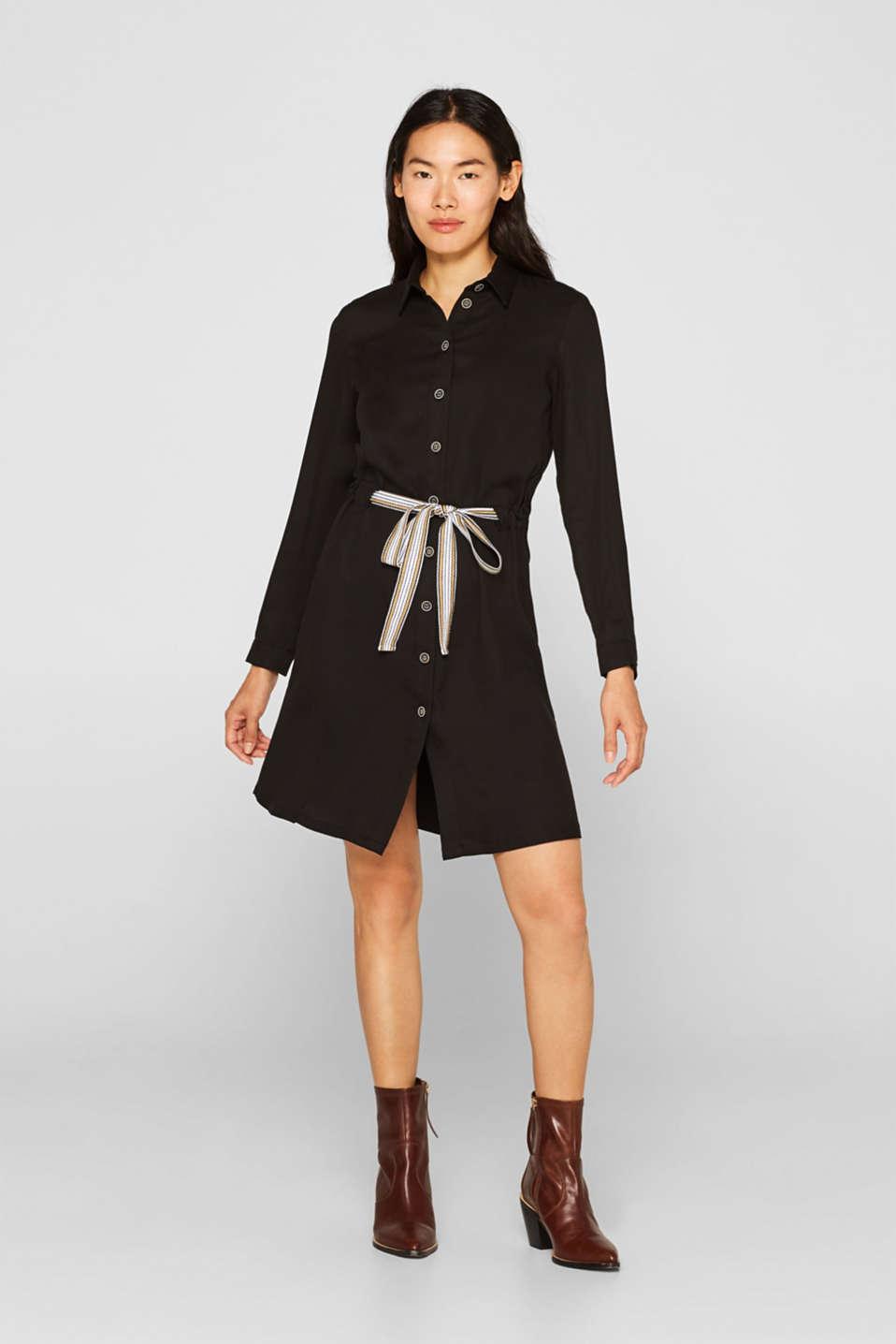 Dresses woven, BLACK, detail image number 1