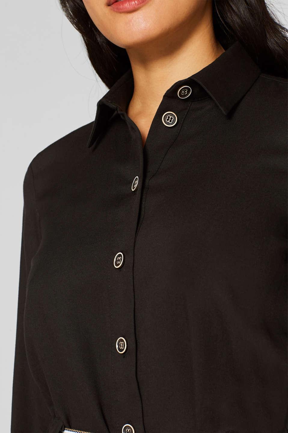 Dresses woven, BLACK, detail image number 2
