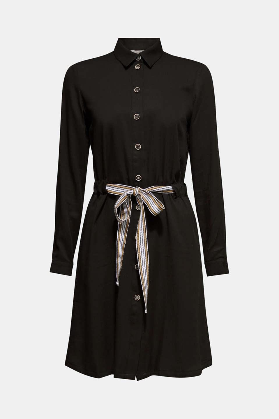Dresses woven, BLACK, detail image number 6