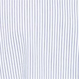 Striped blouse with contrasting trims, OFF WHITE, swatch