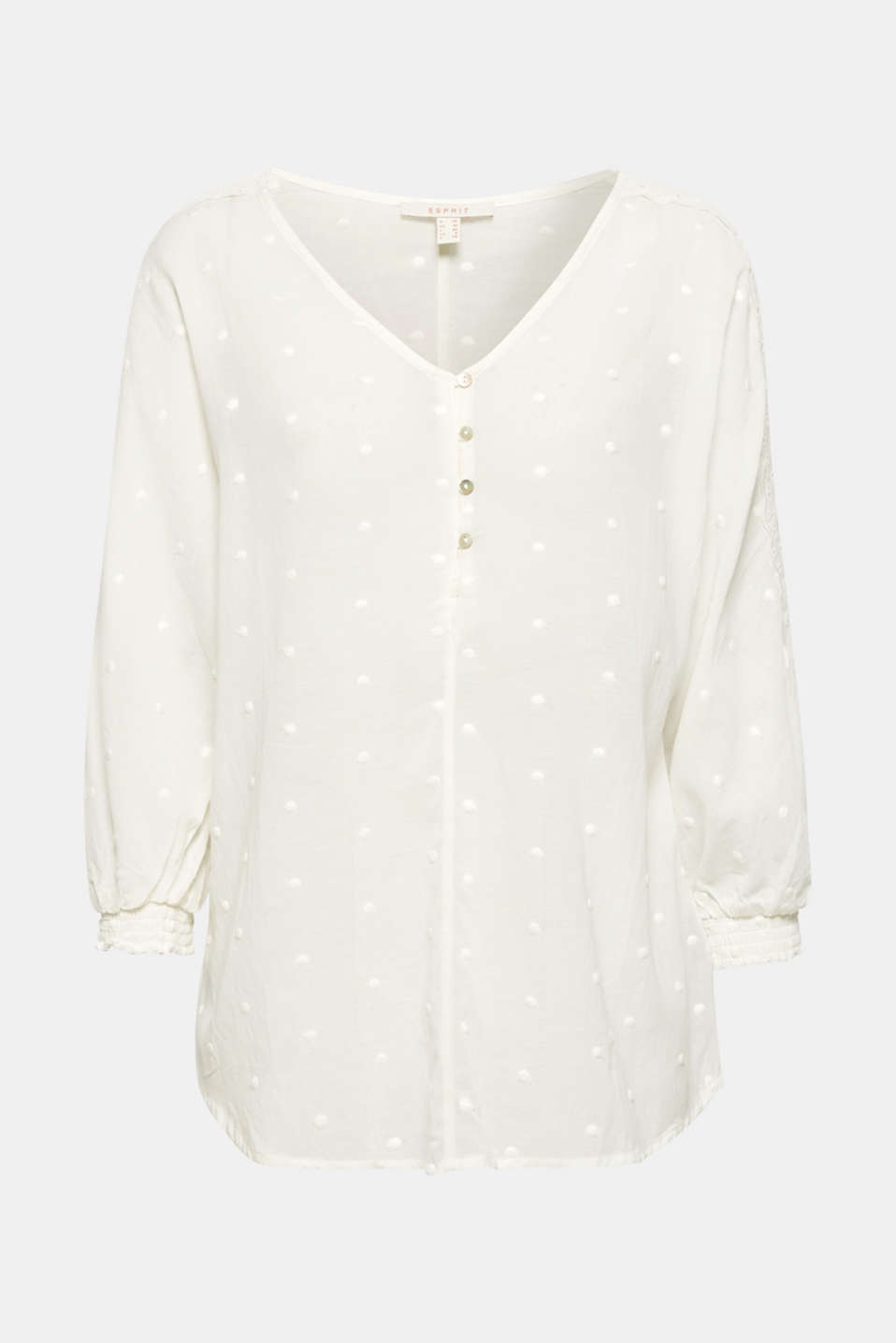 Blouses woven, OFF WHITE, detail image number 6