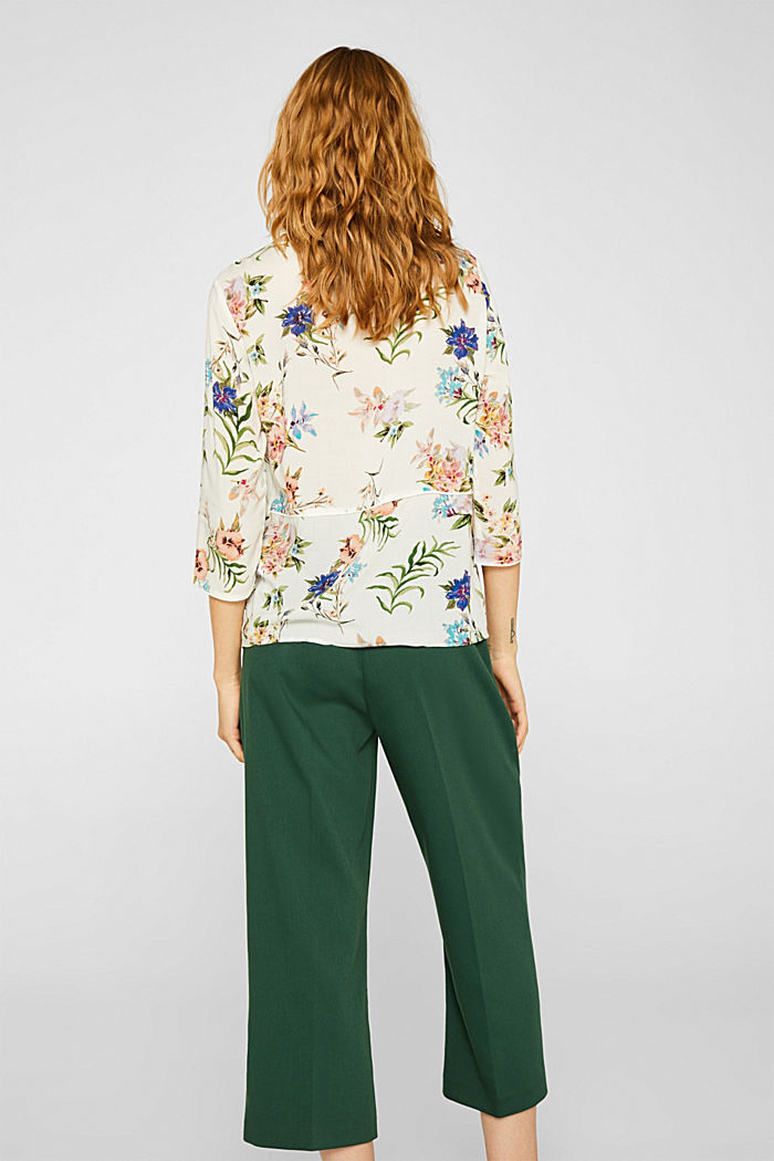 Casual print blouse, OFF WHITE, detail image number 3