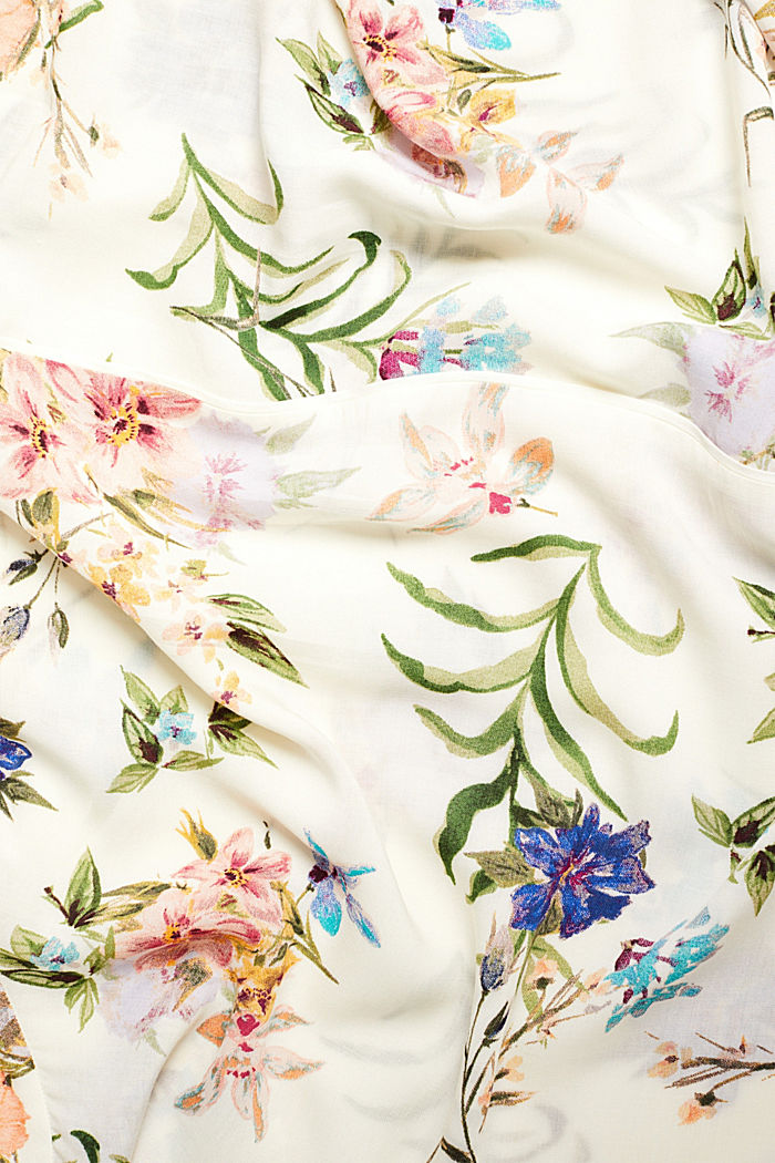 Casual print blouse, OFF WHITE, detail image number 4