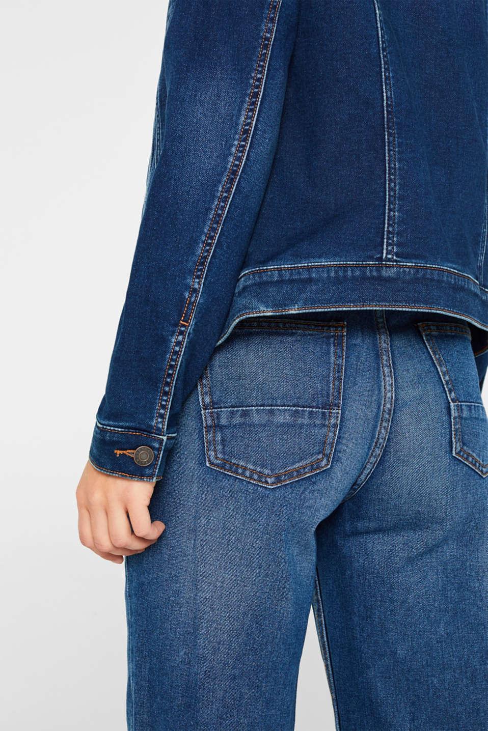 Jackets indoor denim, BLUE DARK WASH, detail image number 2