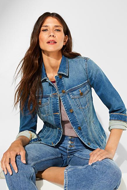 best service 85fc8 ebdf3 Jeansjacken für Damen im Online Shop kaufen | ESPRIT