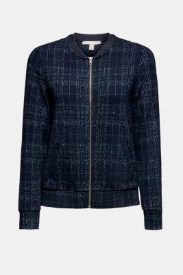 Esprit Bomber Jacke aus Jersey Stretch im Online Shop kaufen