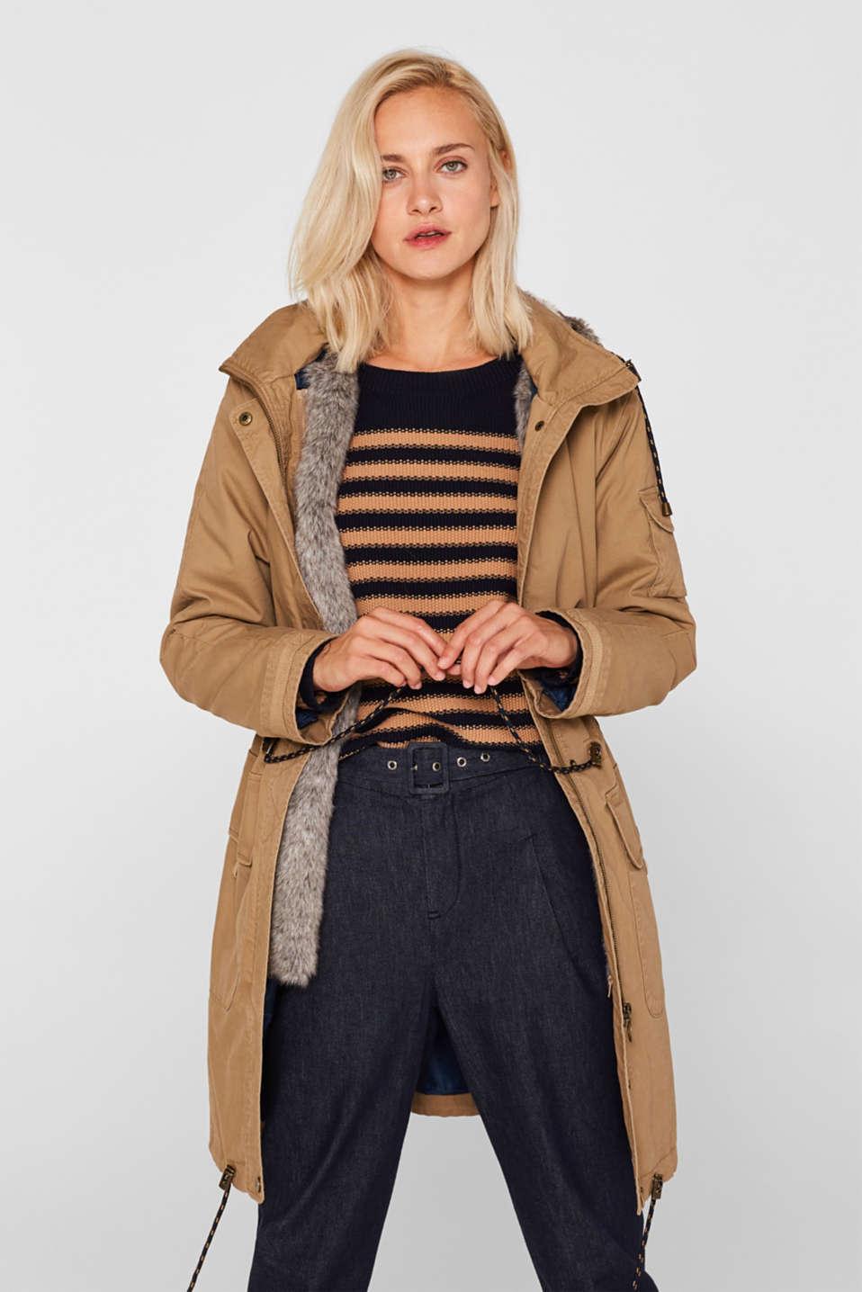 Coats woven, BARK, detail image number 0