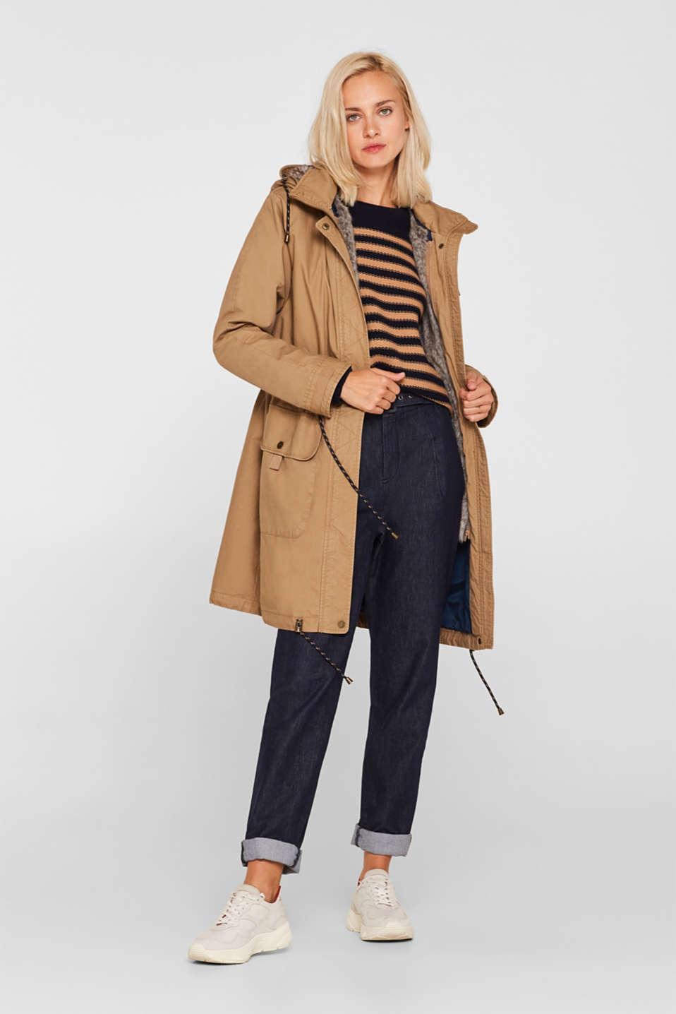 Coats woven, BARK, detail image number 1