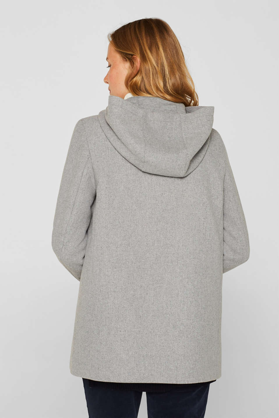Jackets outdoor woven, LIGHT GREY 5, detail image number 3