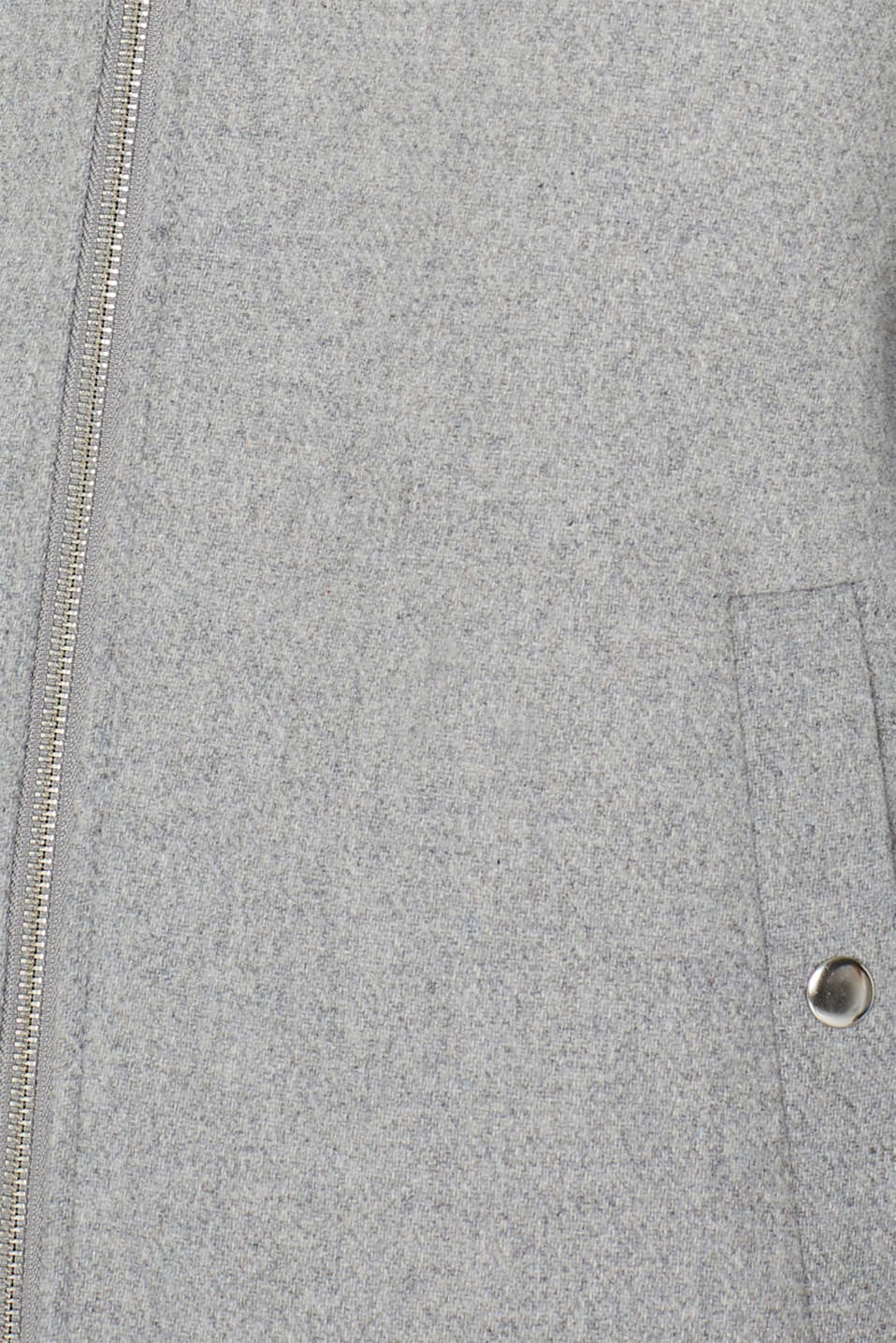 Jackets outdoor woven, LIGHT GREY 5, detail image number 4