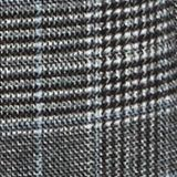 With wool: Padded coat with a checked pattern, ANTHRACITE, swatch