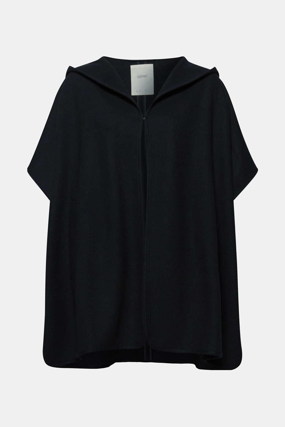 Coats woven, BLACK, detail image number 9