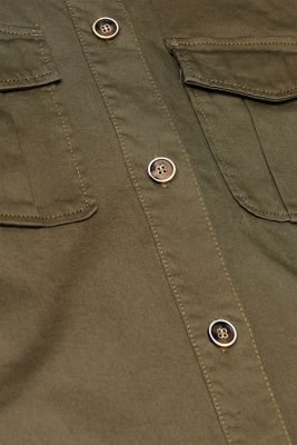 Field jacket made of cotton