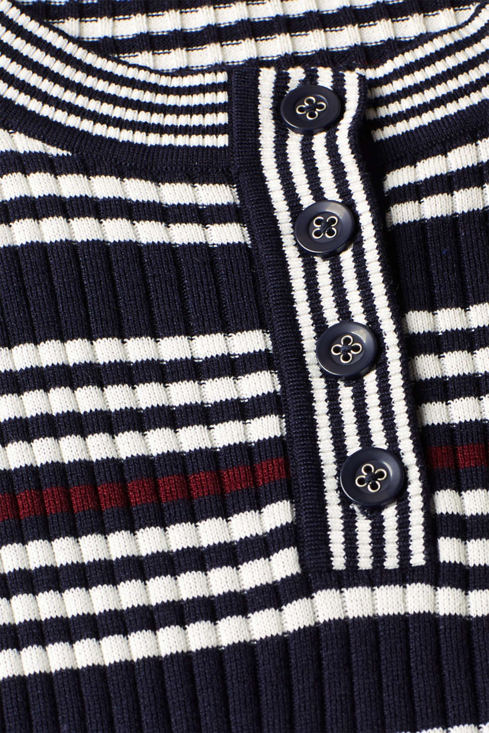 Sweaters, NAVY 2, detail image number 4