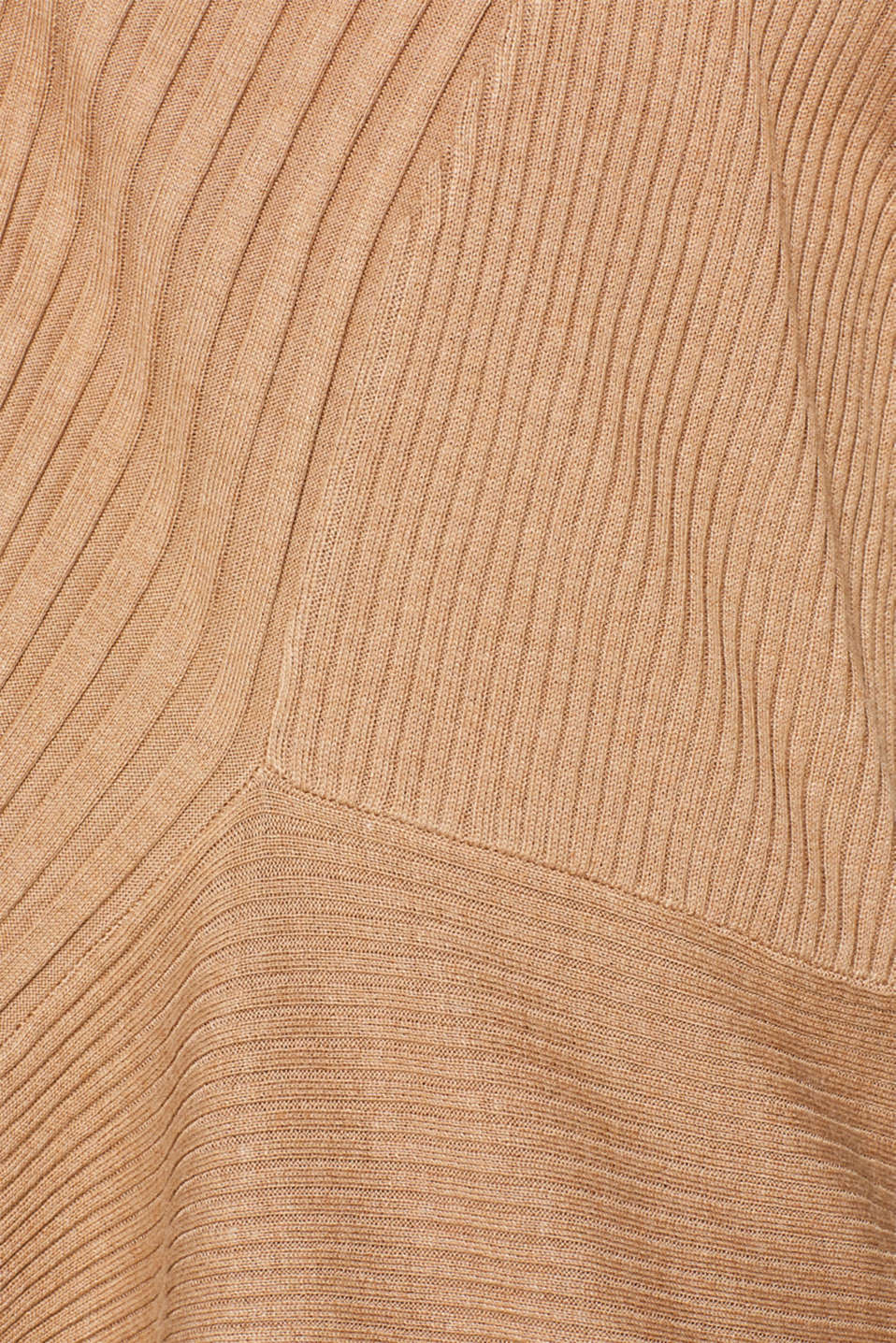 Sweaters cardigan, CAMEL 5, detail image number 4