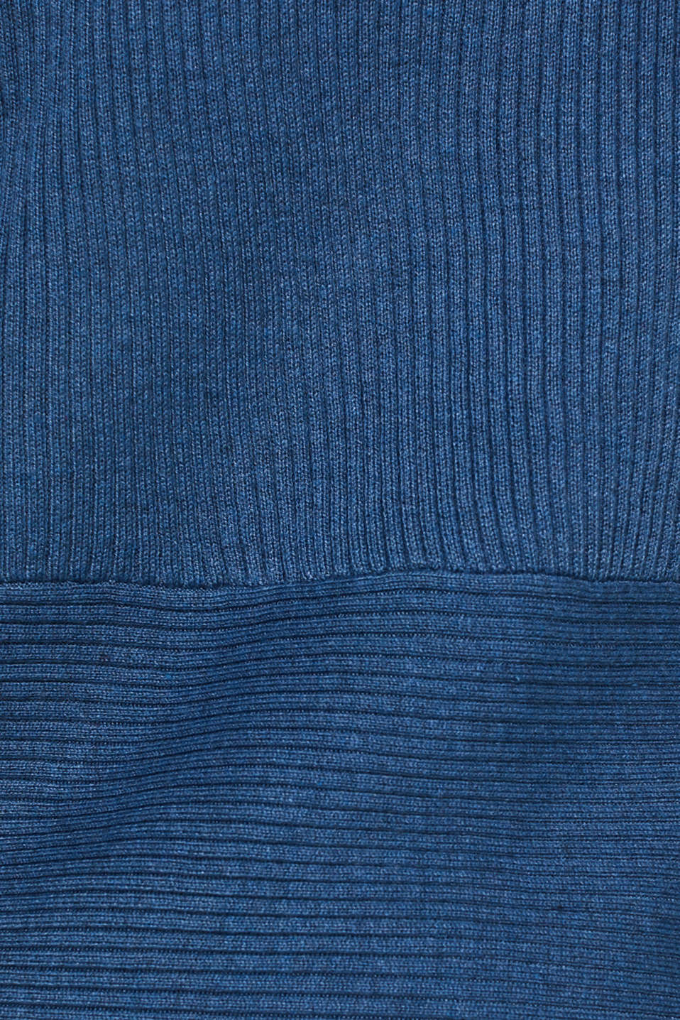 Basic cardigan with a ribbed texture, GREY BLUE 5, detail image number 4