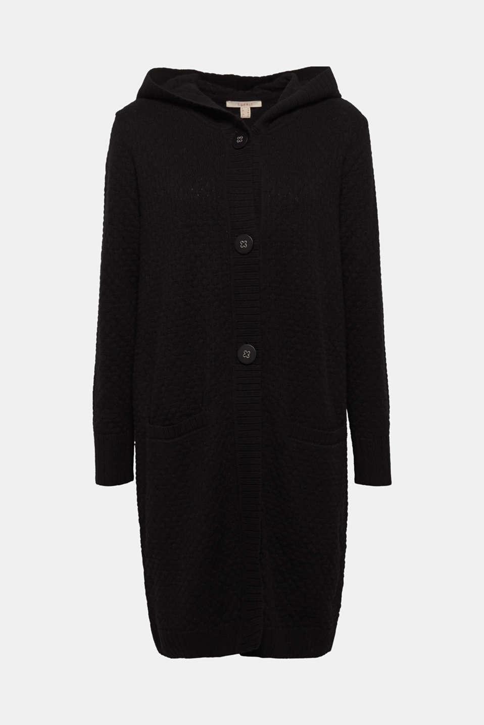 Sweaters cardigan, BLACK, detail image number 8