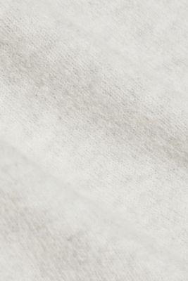 Wool blend: crewneck jumper, PASTEL GREY 5, detail