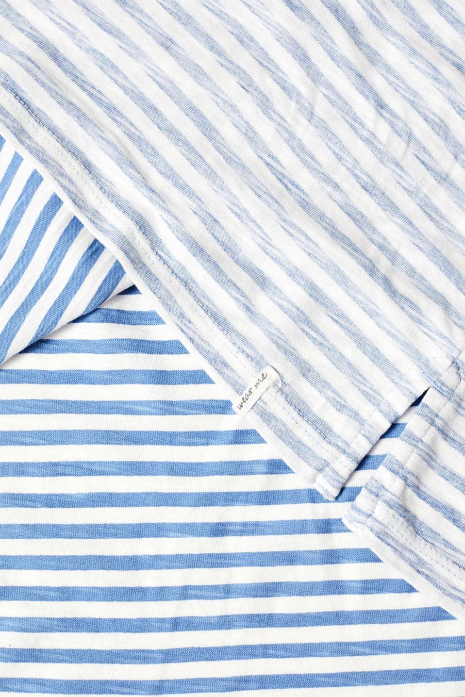 T-Shirts, LIGHT BLUE LAVENDER, detail image number 4
