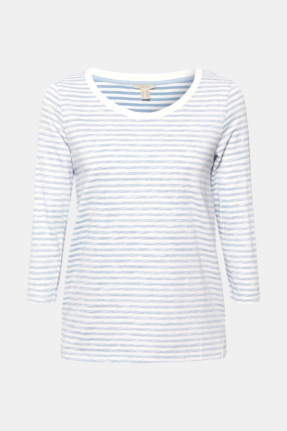 T-Shirts, LIGHT BLUE LAVENDER, detail image number 6