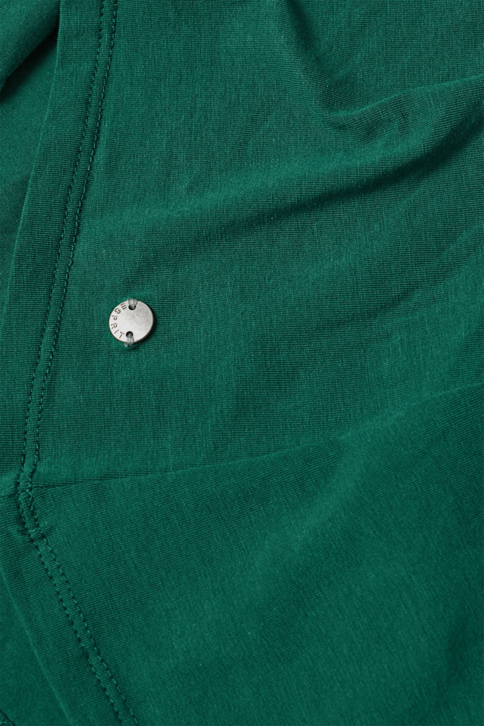 T-Shirts, BOTTLE GREEN 4, detail image number 4