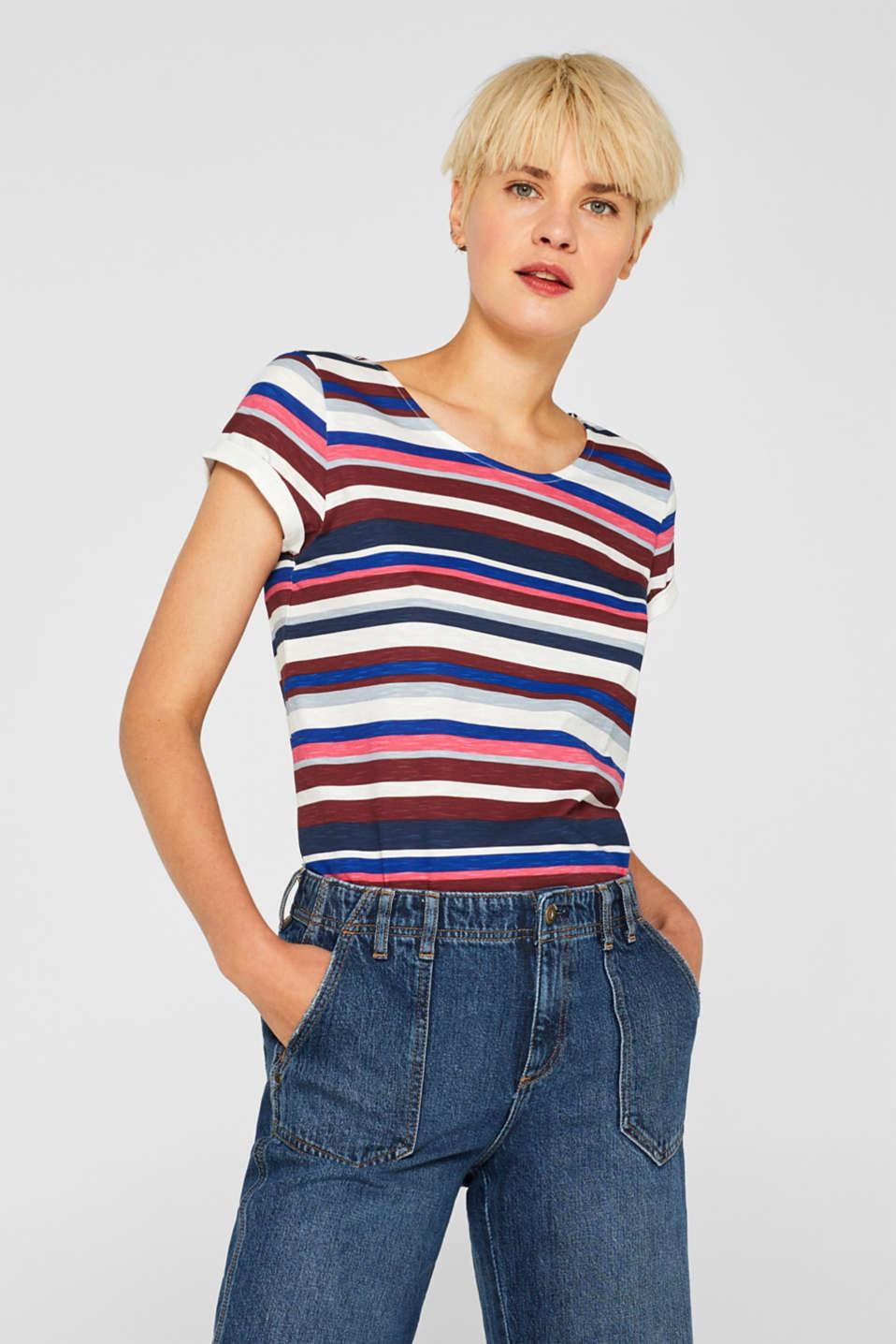 T-Shirts, GARNET RED, detail image number 0