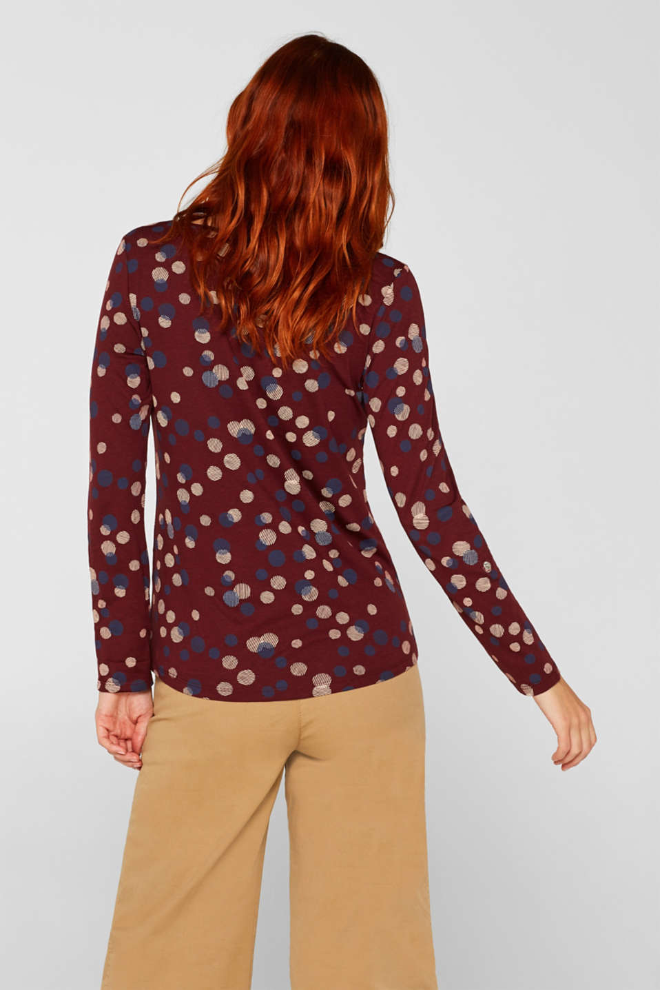 T-Shirts, GARNET RED, detail image number 3