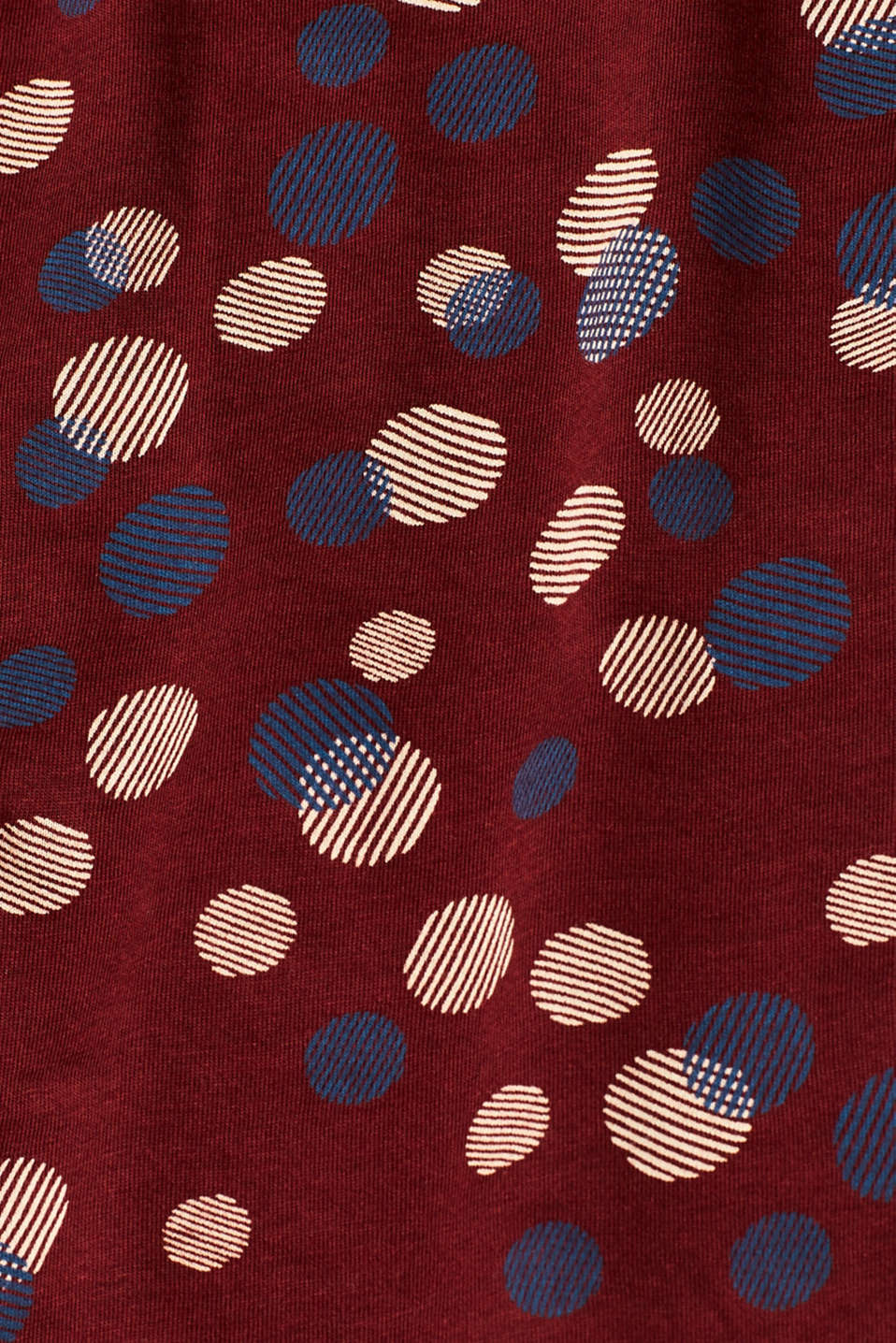 T-Shirts, GARNET RED, detail image number 4