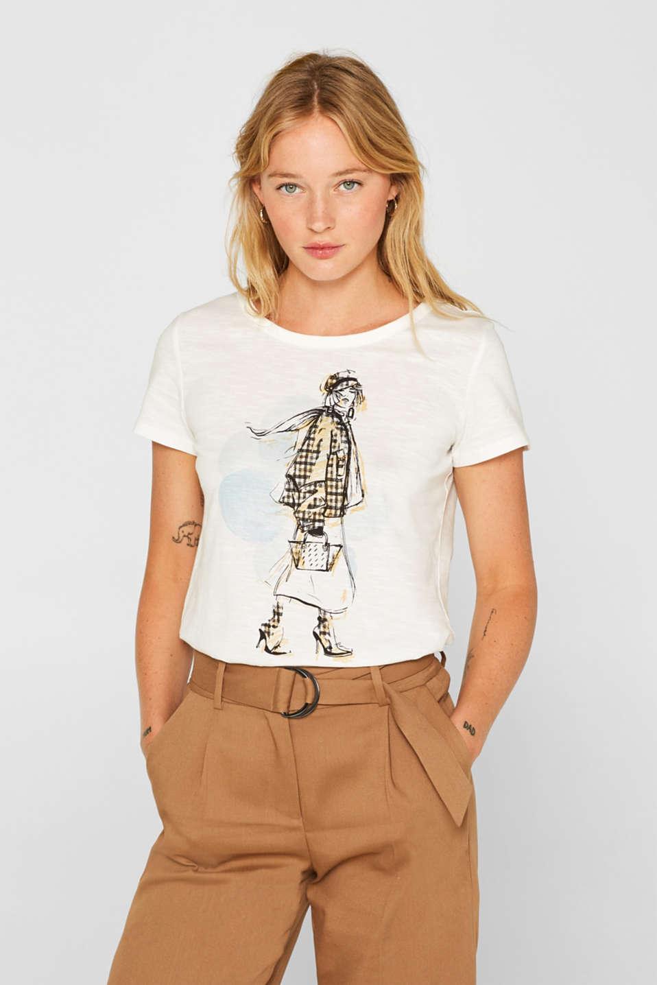 Esprit T Shirt mit Print, 100% Baumwolle im Online Shop kaufen