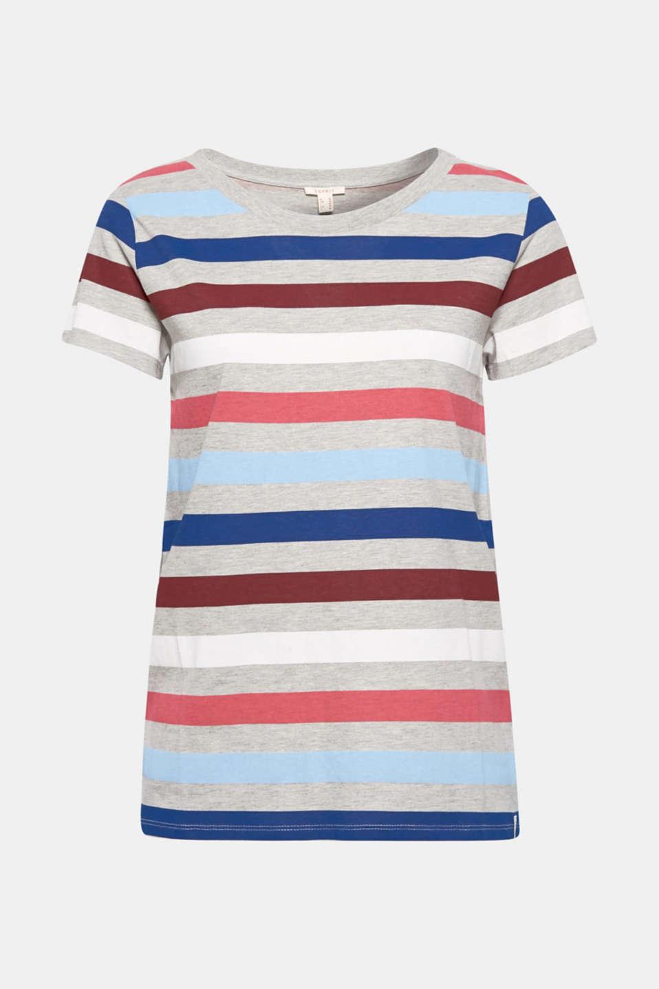 T-Shirts, LIGHT GREY 4, detail image number 6