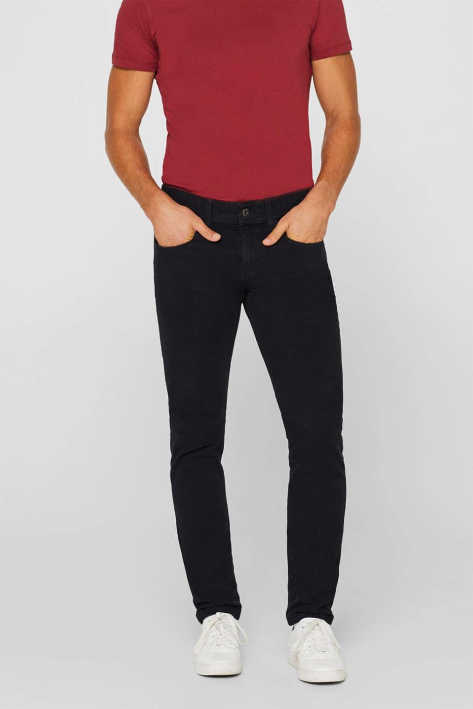 Pants woven Slim fit, BLACK, detail image number 0